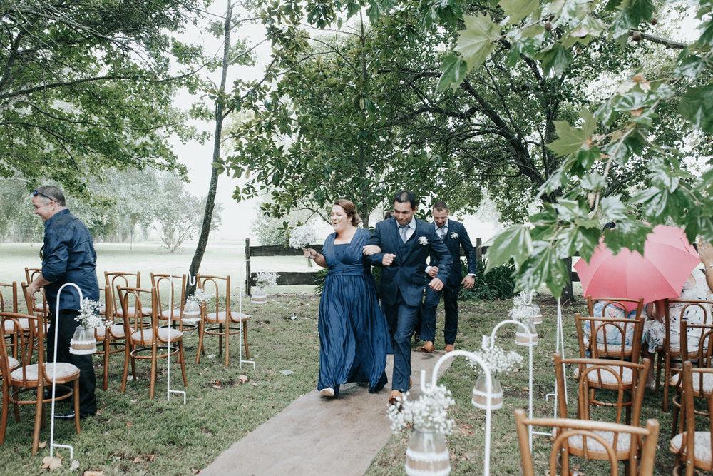 Rainy Day Merimbula South Coast Wedding ceremony, Jenny Wu Straight No Chaser Photography