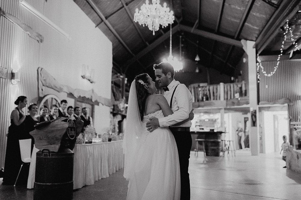 Pambula South Coast Wedding- reception first dance -  Jenny Wu Straight No Chaser Photography