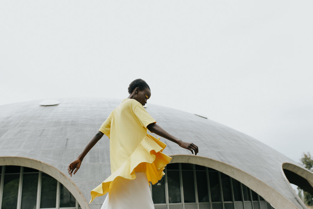 ANU Shine Dome- Brave New World Editorial Jenny Wu Canberra Fashion Photographer for Stell magazine