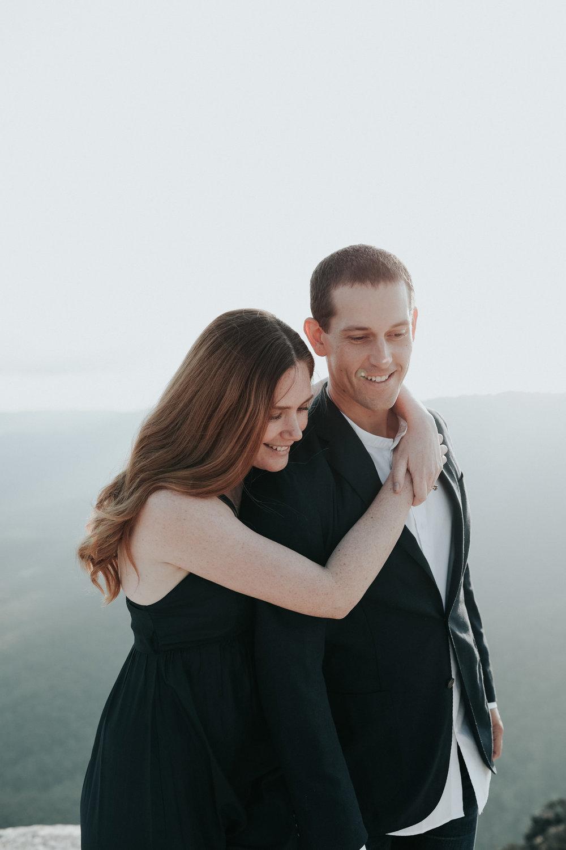 Blue Mountains Sunset Session- Jenny Wu Canberra Wedding Photographer