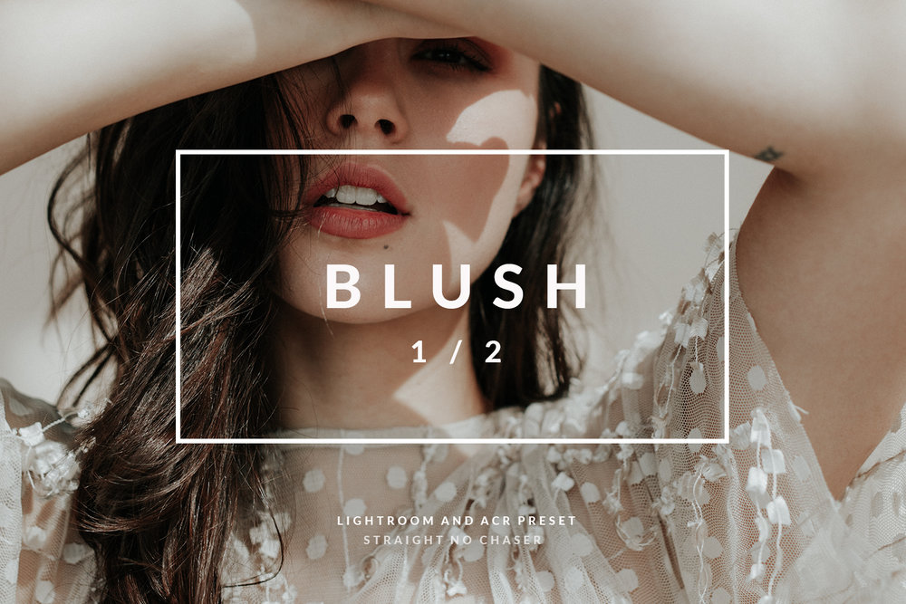 Blush- a pink toned preset for lightroom and photoshop
