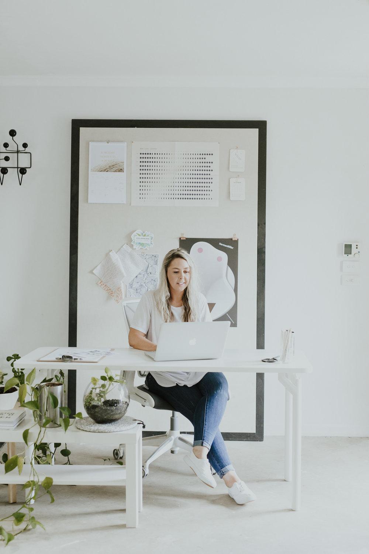 Canberra Interior Designer Lifestyle Headshot / Jenny Wu Photography