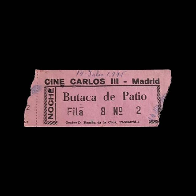 — 🎟 Cine Carlos III 📍 Madrid, Spain 🎥 — 🗓 1975