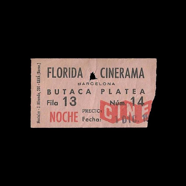 — 🎟 Florida Cinerama 📍 Barcelona, Spain 🎥 — 🗓 ~1960's