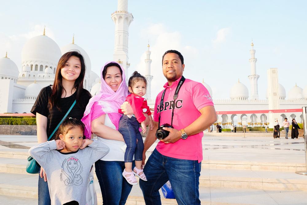 The lucky family