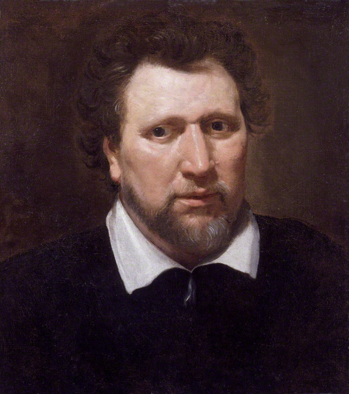 Portrait of Ben Johnson by Abraham van Blyenberch, c.1617, National Portrait Gallery, London. Source:  https://en.wikipedia.org/wiki/Ben_Jonson#/media/File:Benjamin_Jonson_by_Abraham_van_Blyenberch.jpg