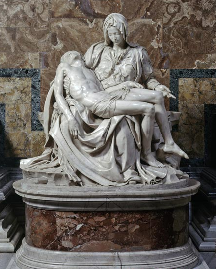 Michelanglo, Pieta 1498-99