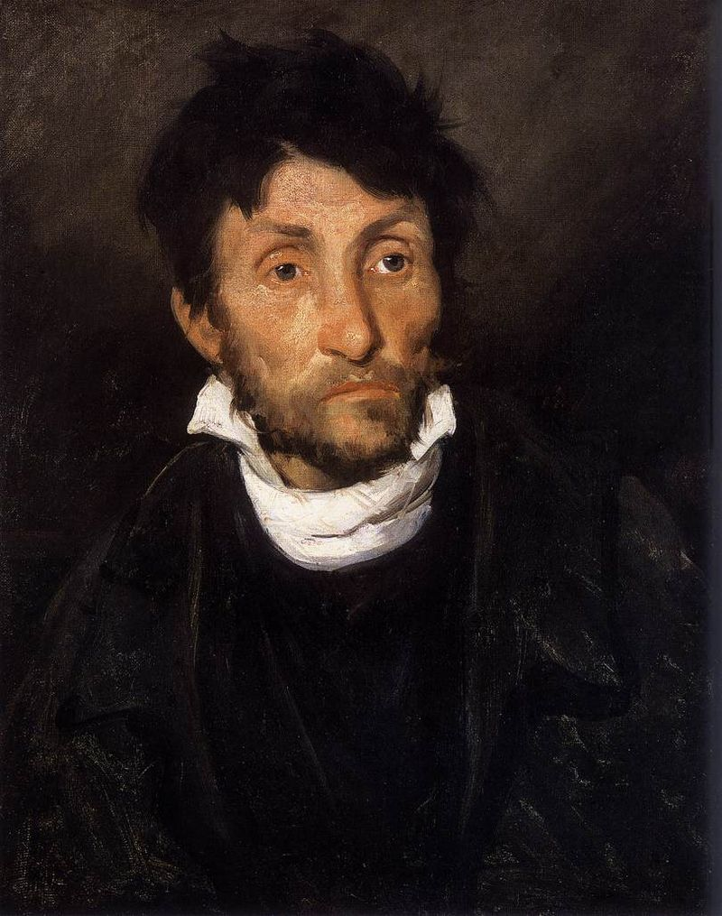 Portrait of a Kleptomaniac  by Géricault (1822), suorced from https://goo.gl/1G4nVd