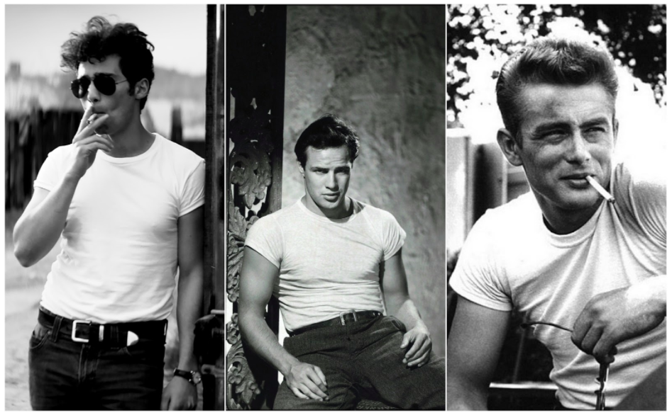 Arash Marandi, Marlon Brando, James Dean