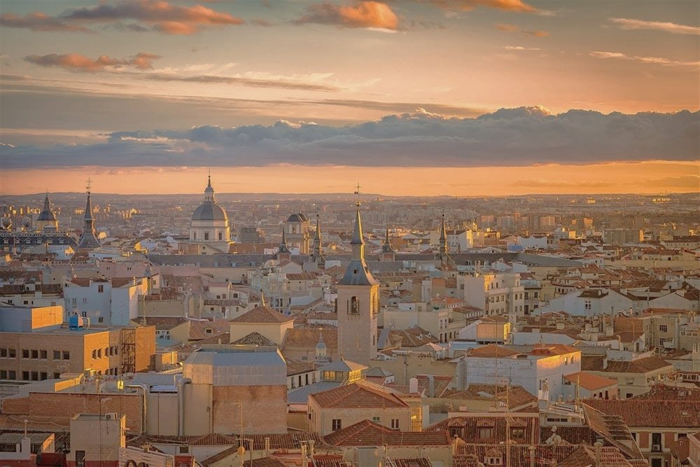 Madrid, sourced from Lonely Planet