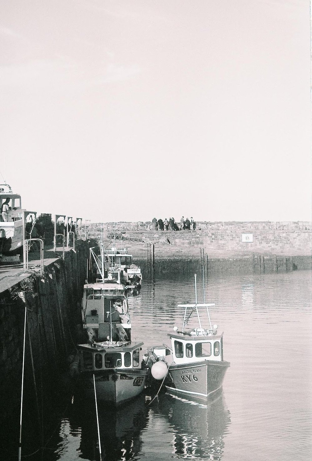 St Andrews harbour, April 2017
