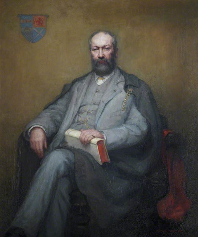 Portrait of Professor William Angus Knight