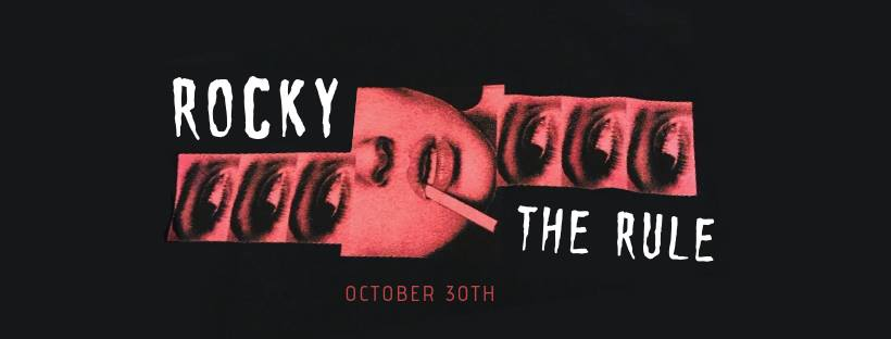 Rocky Horror Picture Show event at the Rule on October 30th