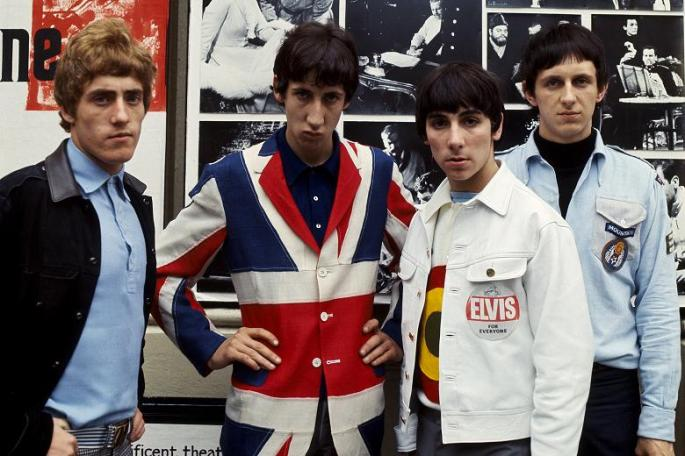 The Who pictured in 1965