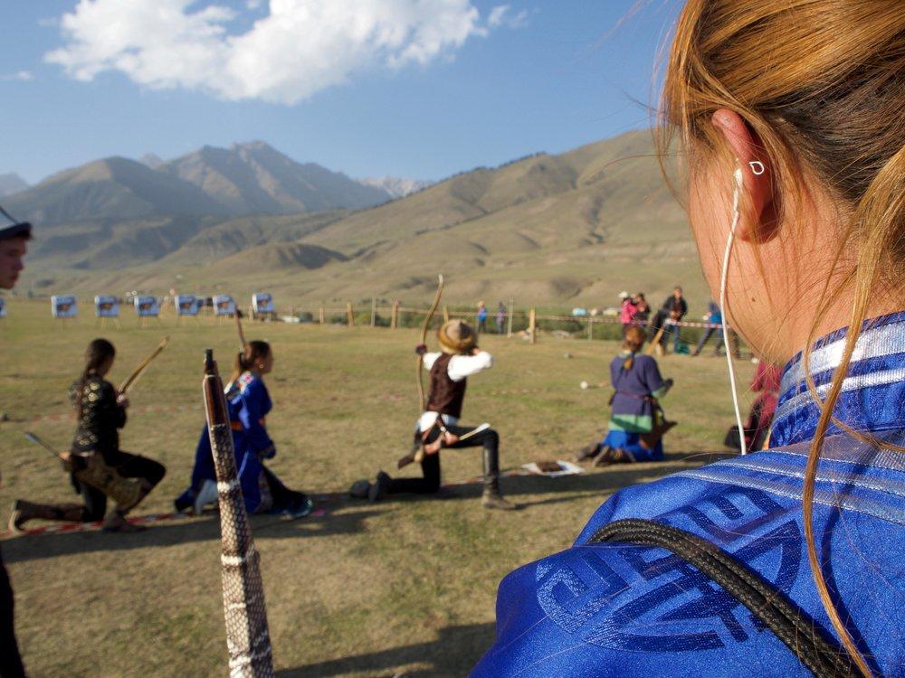 Archery Competition  Photo by: Emilie Adriaen-Gourraud