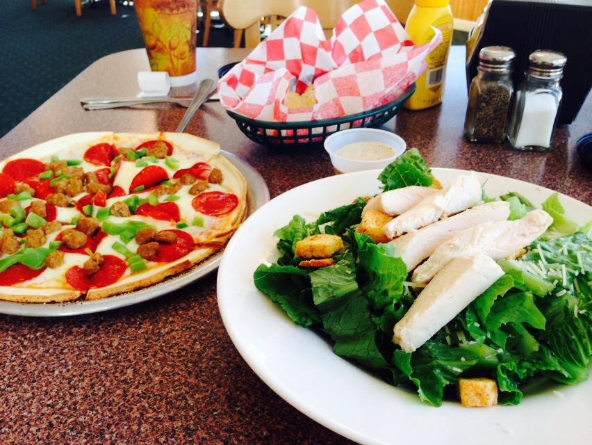 The best pizza, sandwiches and salads on the island!