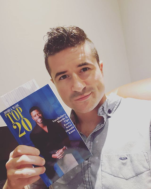 Shout out to my good friend @thejoshuawade for doing great things and always pushing to be the best version of himself! #books #actors