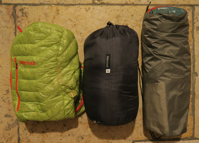 Marmot Camping Gear
