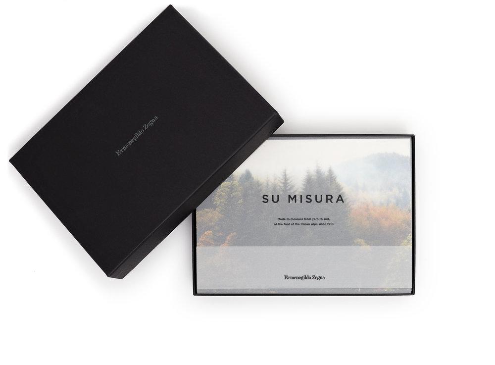Print Box for Ermenegildo Zegna - 2017