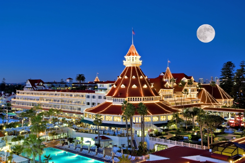 Hotel del Coronado, site of The Environmental Business International industry summit.  courtesy: hoteldel.com