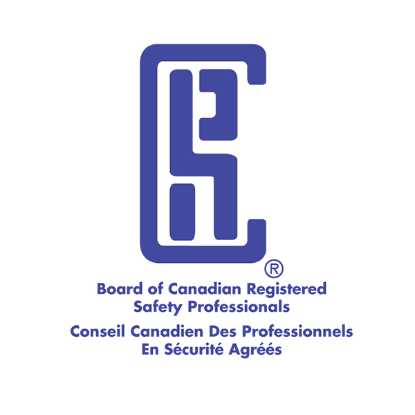Logo of the Board of Canadian Registered Safety Professionals.    Courtesy: Acclaim