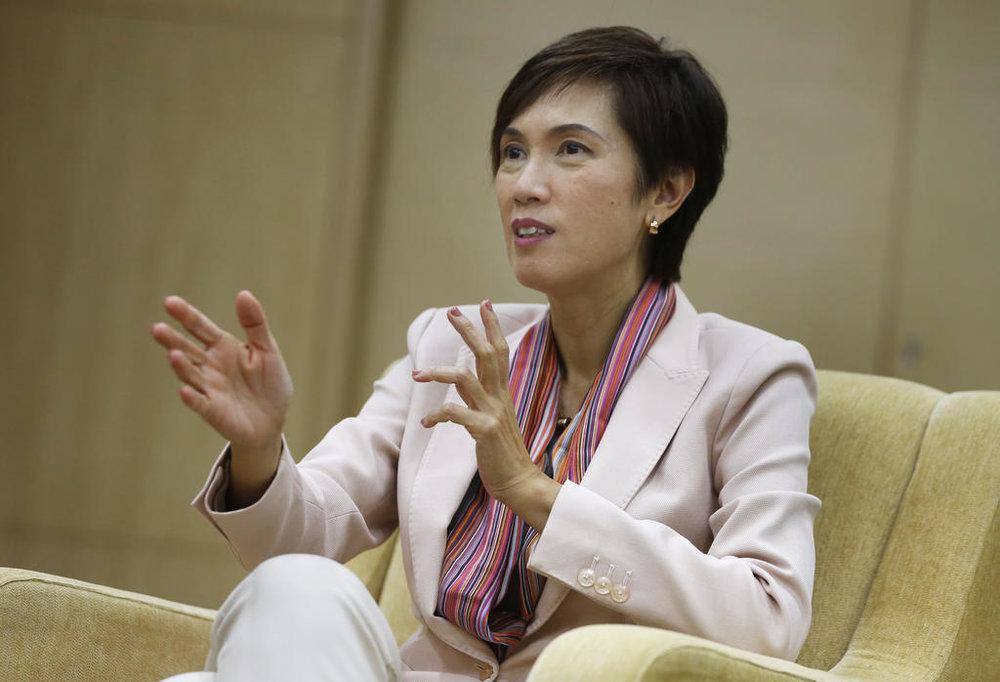 Singapore Manpower Minister Josephine Teo.  Courtesy: TODAY online