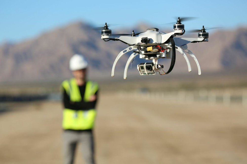 Drones are becoming an increasingly common tool in Numerous Industries.  Courtesy: General Building Contractors Association