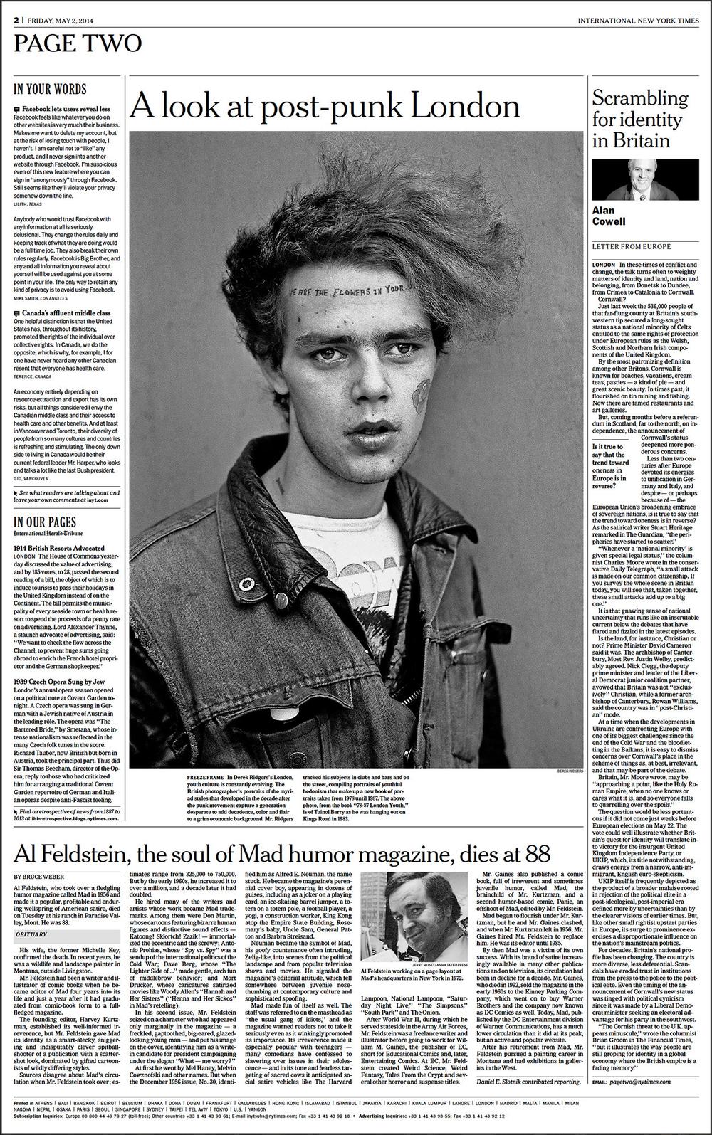New York Times, 2014