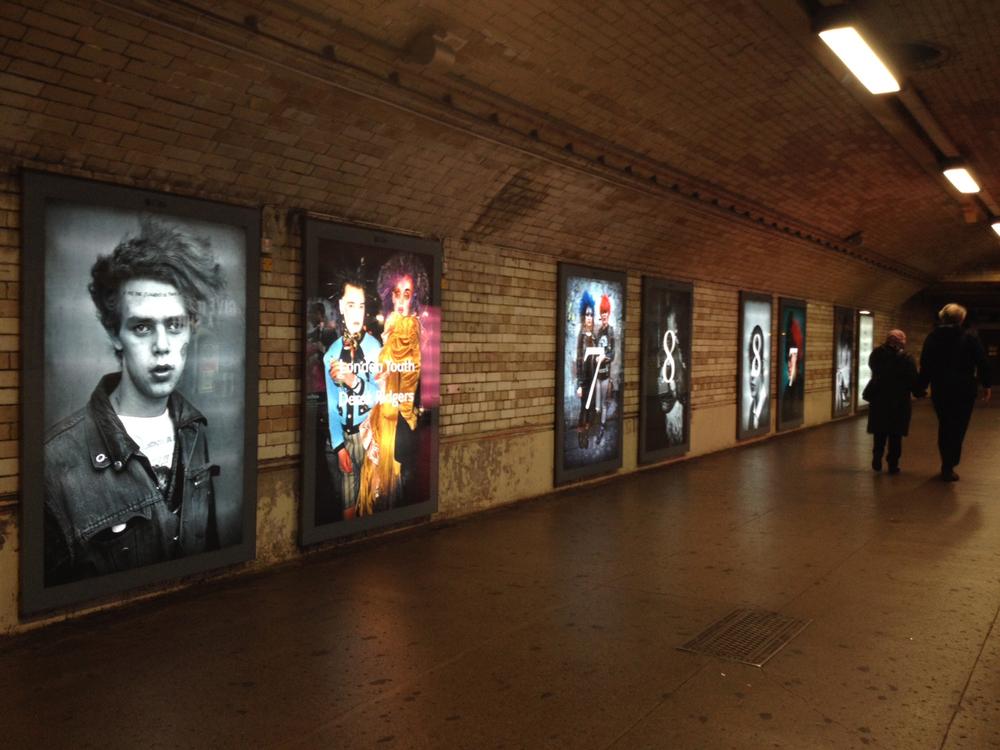 London Underground (South Kensington) 2014.