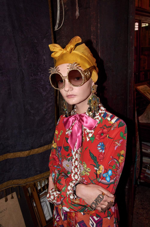 Gucci Look Book Pre-Fall 2017