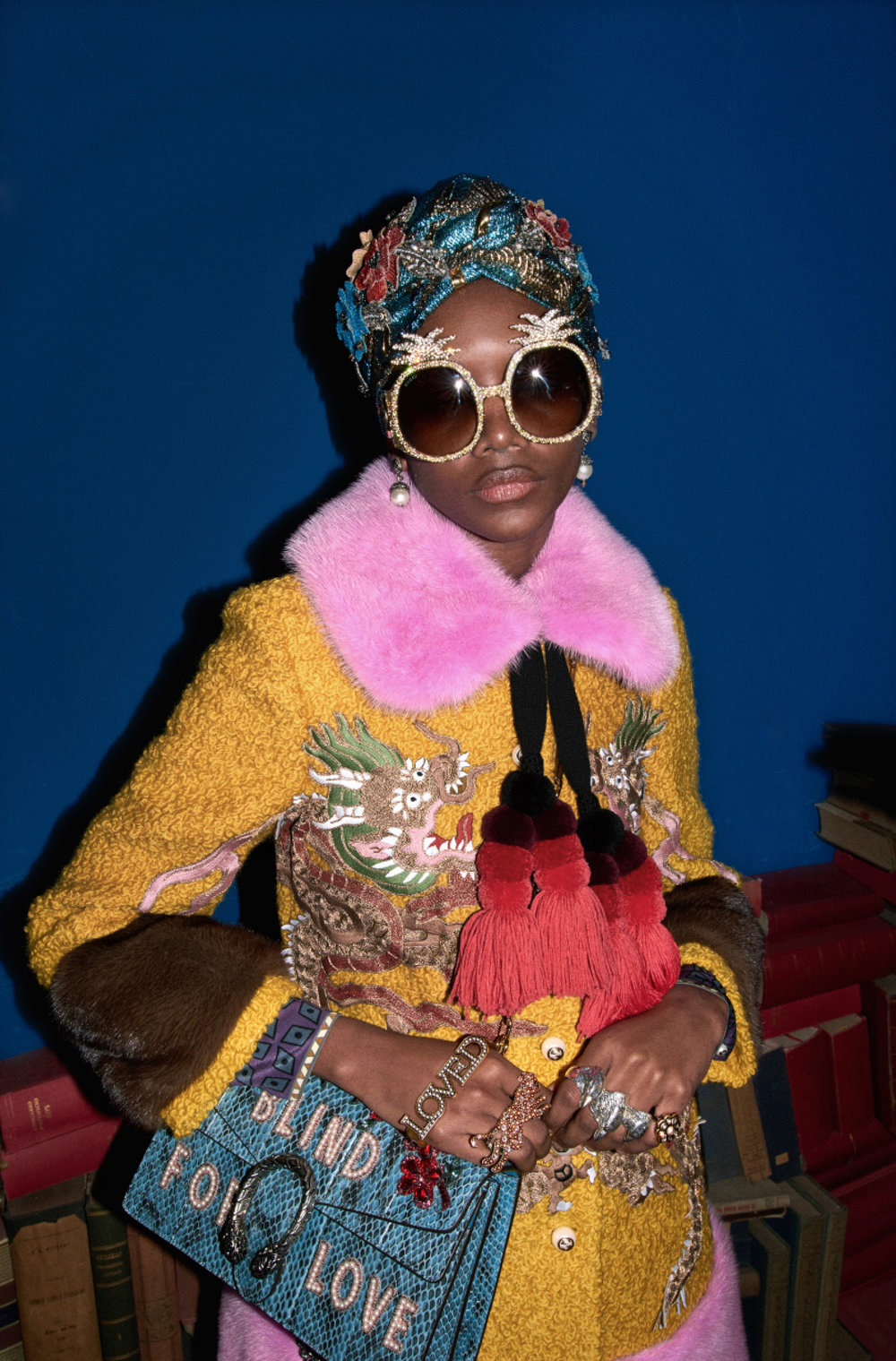 Gucci Look Book Pre-Fall 2017