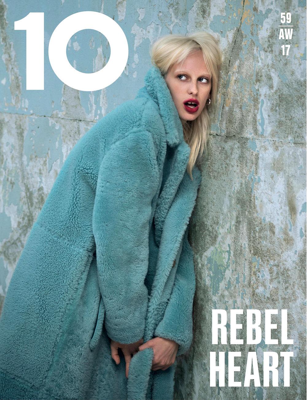 Lili Sumner for 10 magazine.