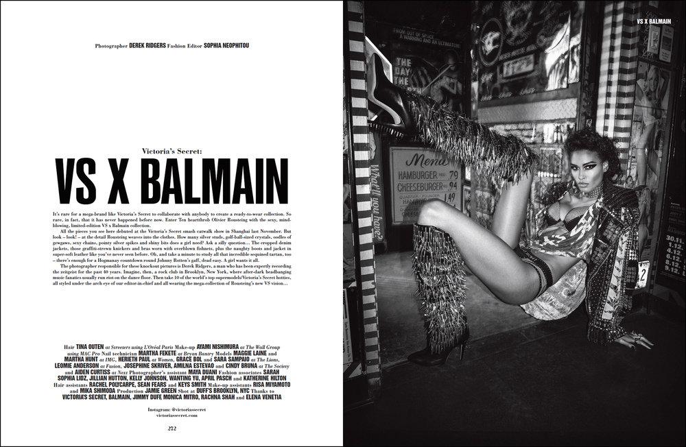 Cindy Bruna for 10 Magazine.