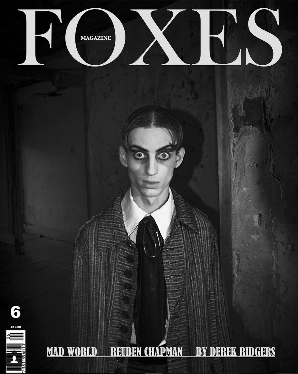 Reuben Chapman for Foxes magazine.