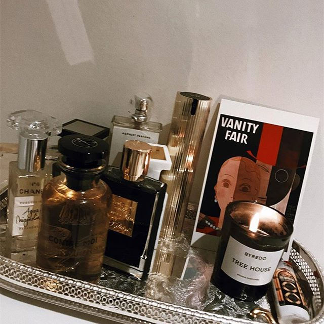 Monday nights are for relaxing with perfumes. I apologize for the lack of post. We have been super busy with the move to the new studio. 💓💕🌹 Source: @camillecharriere . . . .  #emergingdesigner  #contemporaryfashion #luxuryfashion #sustainablefashion  #studiojacquelynchow #paris #travel #lifestyleblogger #nyfw #lafw #pfw #imadeyourclothes #art  #inspiration  #photography #london #newyork #handmade #sketchbook #embroidery #enjoy #trends #EthicalFashion #artwork #fashioneditorial #vintage #rock