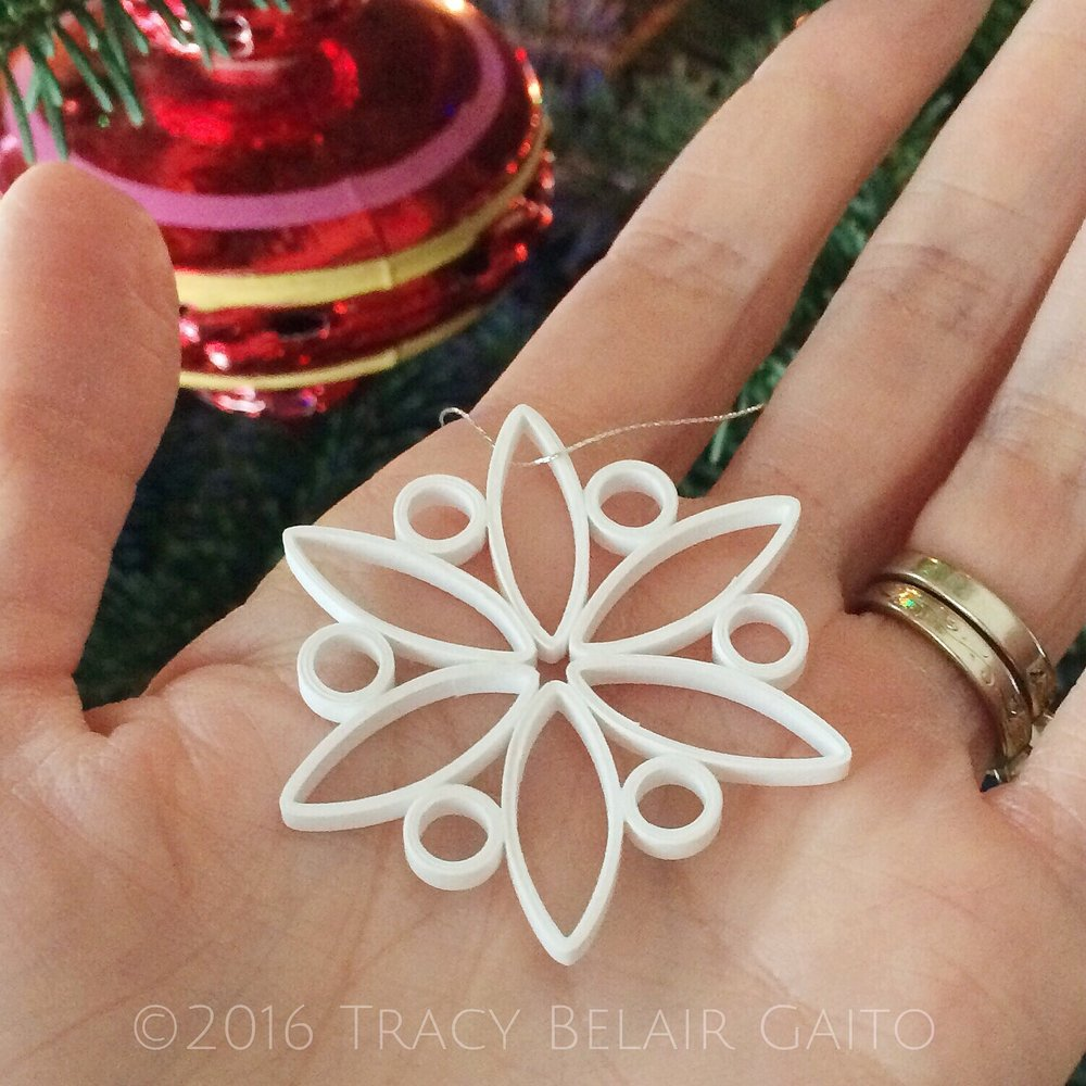 Paper Snowflake by runnerbean paper art
