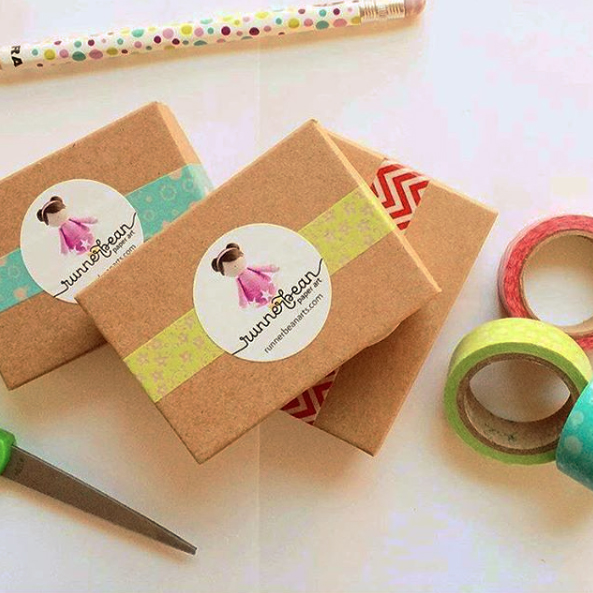 runnerbean paper art packaging