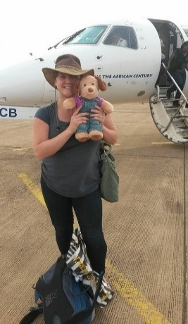 Sarah and Mary arrive in Africa!