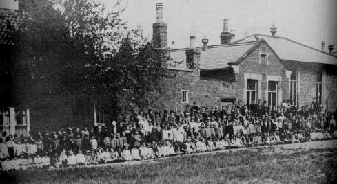The National School in 1925