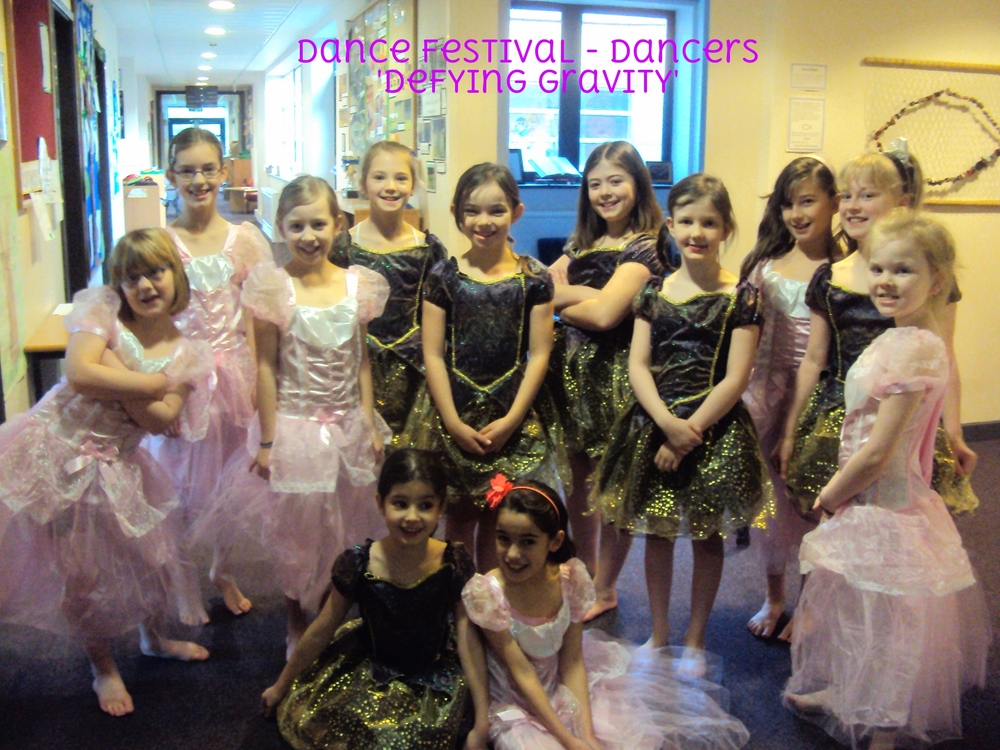 Dance Festival - Dance Team - Whom performed 'Defying Gravity' at the Dance Festival. They were AMAZING, Well Done .