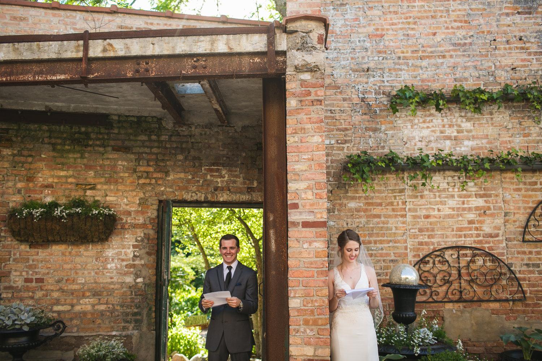 Lauren & Colton - Blumen Gardens Wedding — Photos by Gisselle