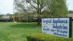 SURGICAL APPLIANCE INDUSTRIES PHOTO