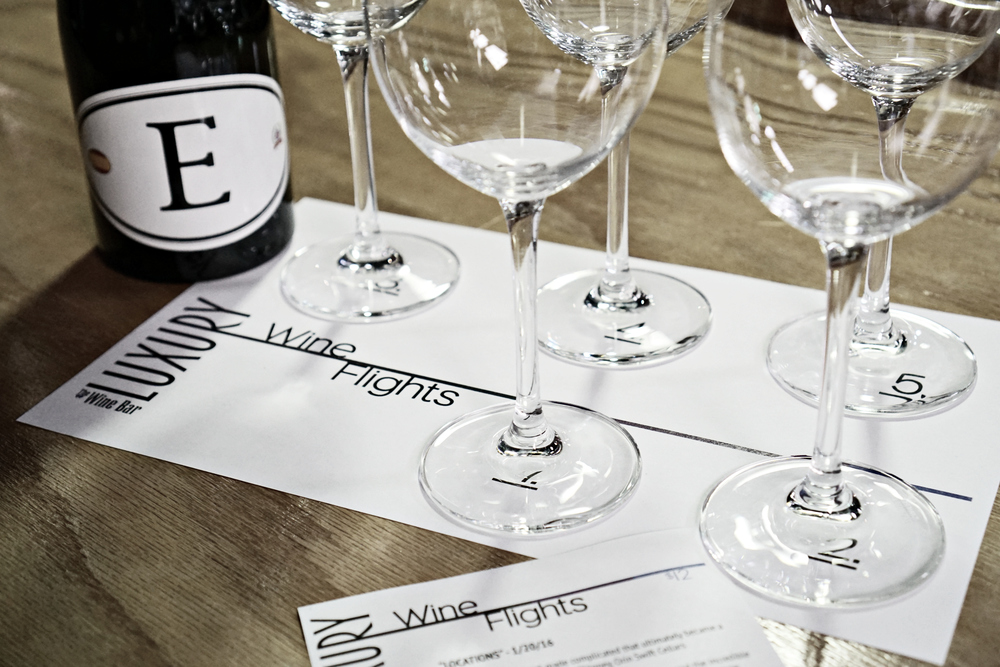 LUXURY WINE FLIGHTS