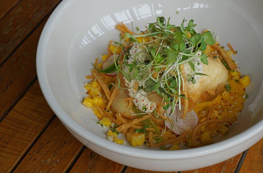 Seafood Taco Bowl