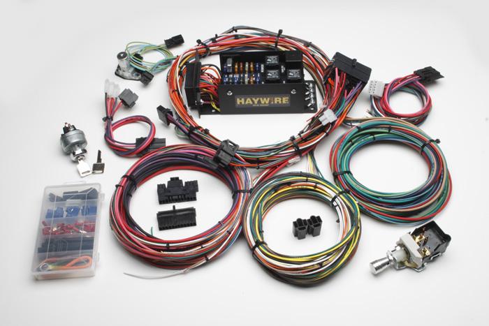 haywire 14 fused wiring system haneline rod custom. Black Bedroom Furniture Sets. Home Design Ideas