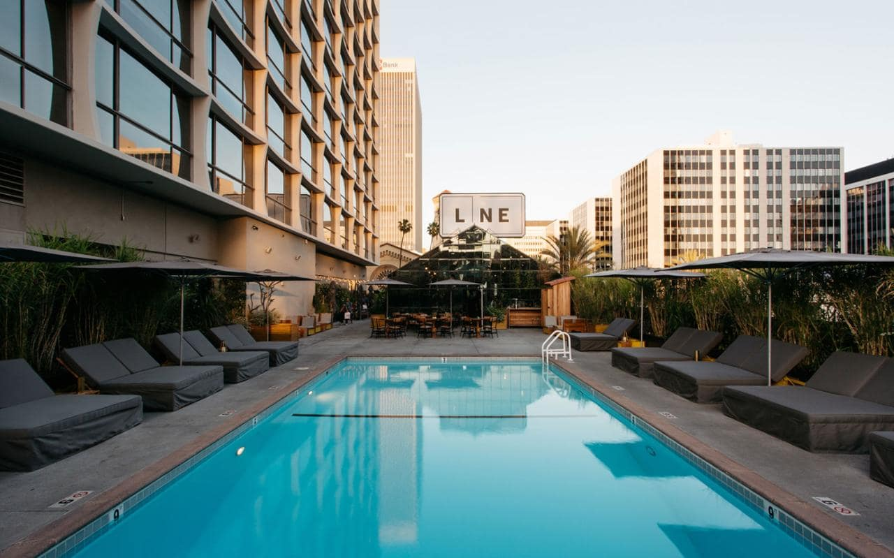 Accidentally jetset san francisco los angeles style blog - The line hotel los angeles ...