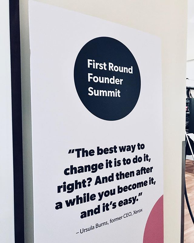 Reflecting on last week's Founder Summit and some amazing learnings / connections I made while there. // What will you do to take action on your goals today?