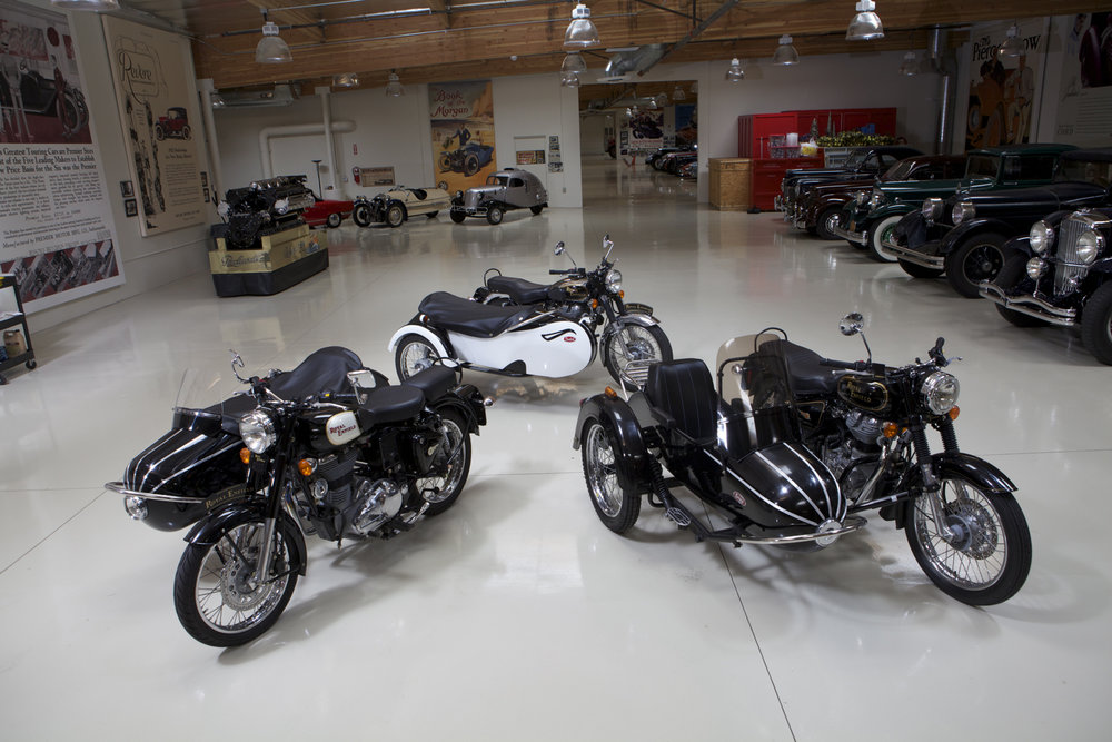 Rocket Sidecars and a Euro Style in Jay Leno's Garage