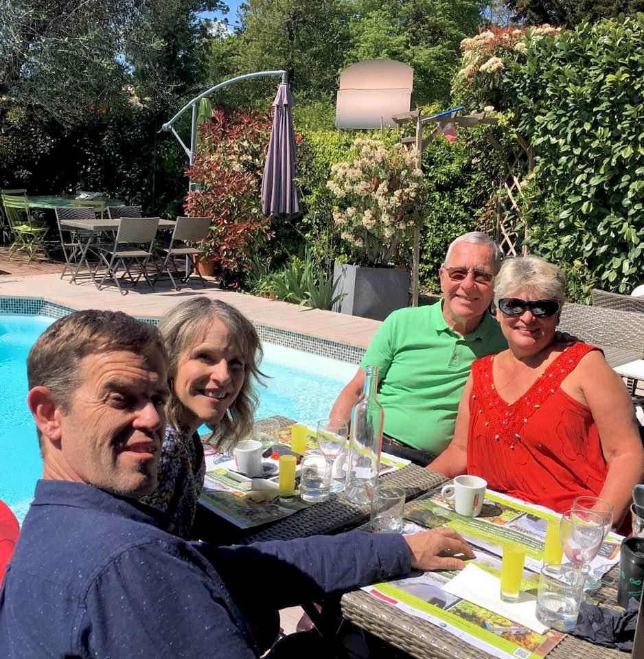 James & Jen Arnold with Dan & Nancy Painter