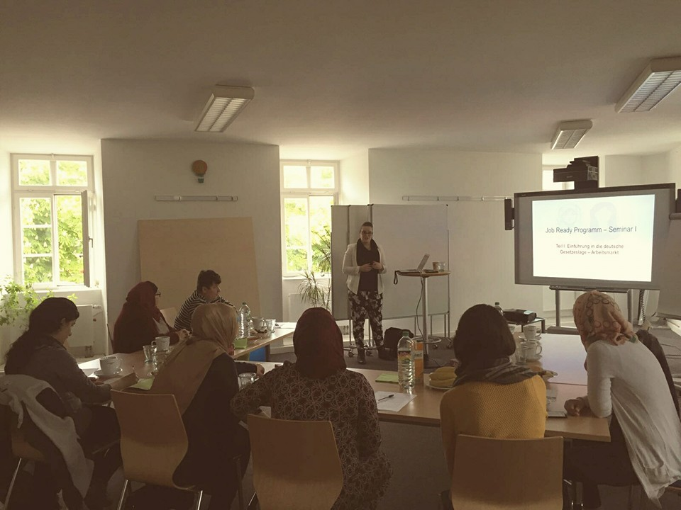 Job Ready Seminar: Stuttgart, 2016